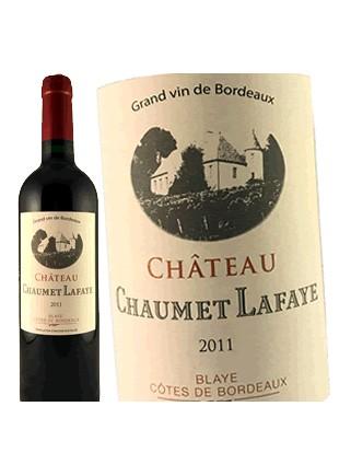 Château Chaumet Lafaye - Blaye Côtes de Bordeaux 2011