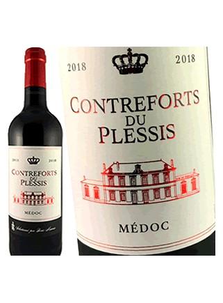 Contreforts du Plessis - Médoc 2018