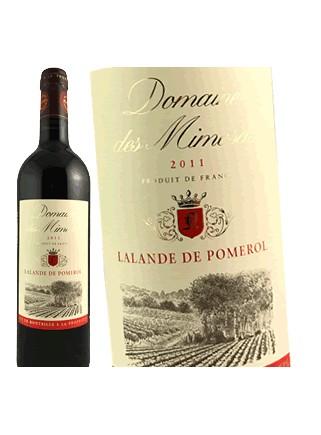 Domaine des Mimosas-Lalande de Pomerol 2011