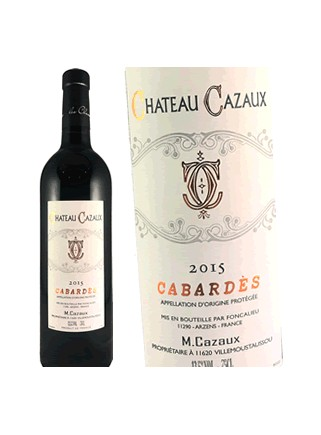 Château Cazaux- Cabardès 2015