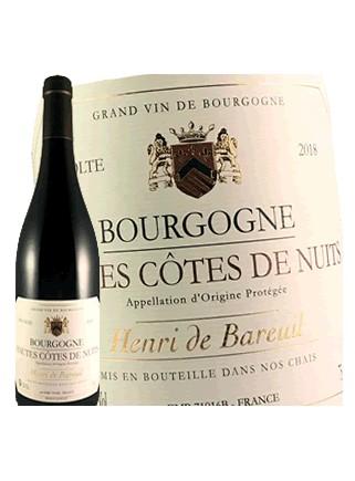 Henri de Bareuil - Hautes Côtes de Nuits 2018