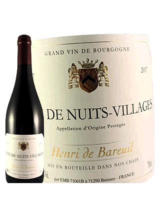 Henri de Bareuil - Côte de Nuits Villages 2017