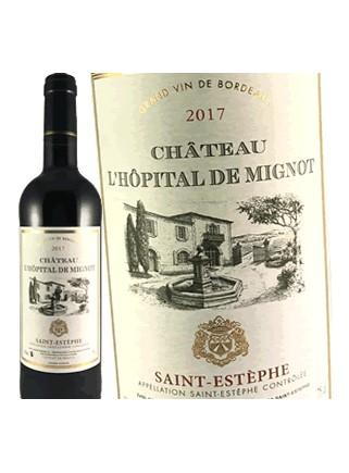 Château L'Hôpital de Mignot - Saint-Estèphe 2017