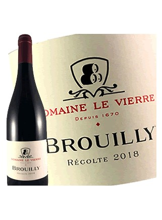 Domaine Le Vierre - Brouilly 2018