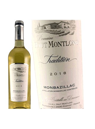 Domaine Haut Montlong Monbazillac 2018