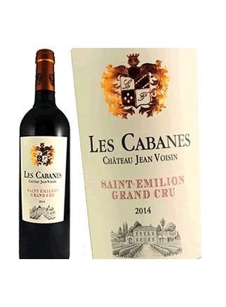 Château Jean Voisin-Les Cabanes 2014