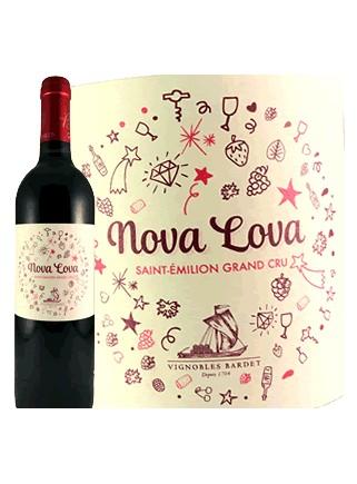 Nova Lova-Vignobles Bardet-Saint-Émilion Grand Cru 2015