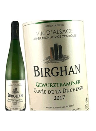 Domaine Birghan- Cuvée de La Duchesse - Gewurztraminer 2017