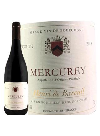 Henri de Bareuil - Mercurey  2018