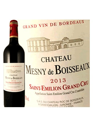 Château Mesny de Boisseaux - Saint-Émilion Grand Cru 2013