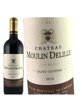 Château Moulin Delille - Saint-Estèphe 2012