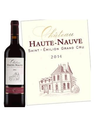 Château Haute Nauve - Saint-Émilion Grand Cru 2014